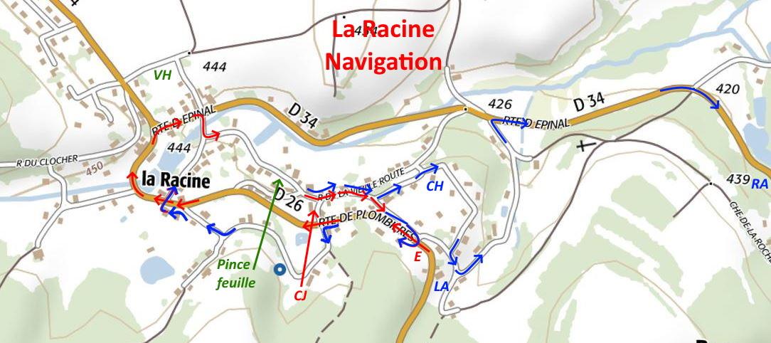 La racine navigation