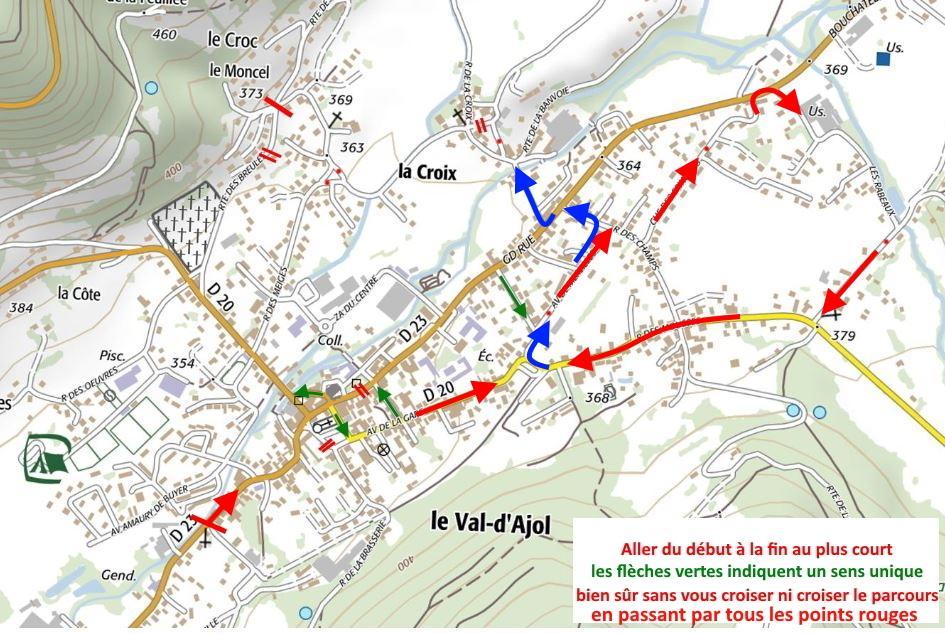 Val d ajol points navigation 2eme etape meilleure solution